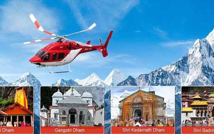 Chardham Helicopter Package (1 N/ 2D)
